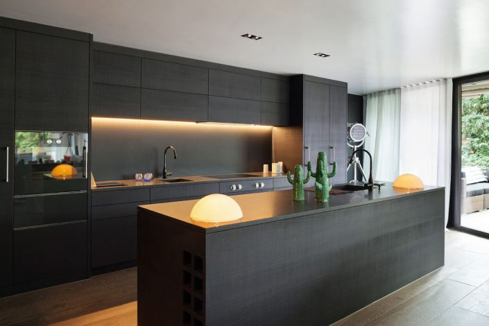 Dark Wood Kitchen Furniture