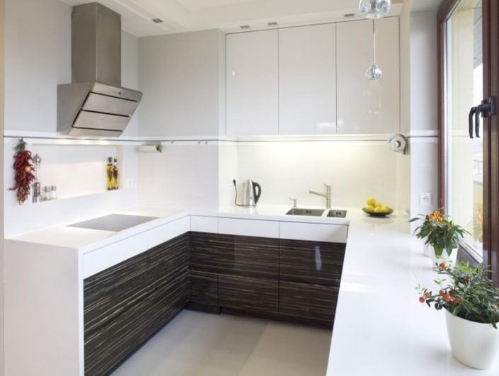 White-Brown Kitchen Furniture