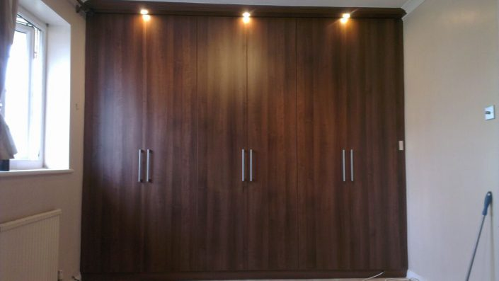 Hinged Door Fitted Wardrobe