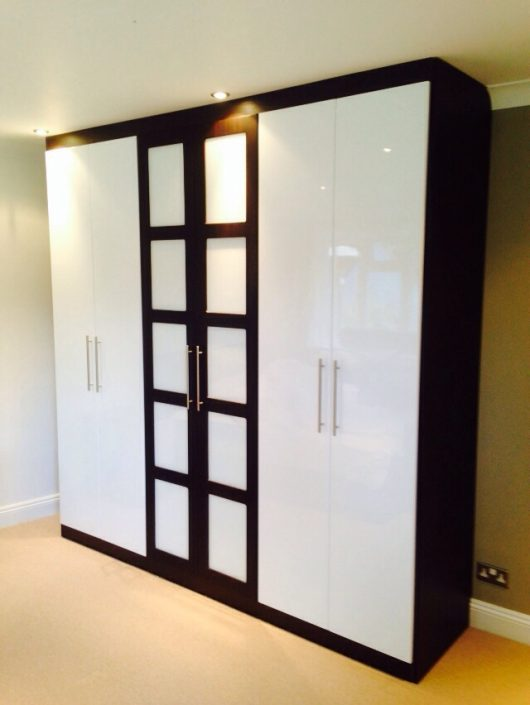 Modern Gloss Hinged Wardrobe