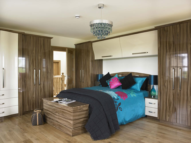 Wood Finish Wardrobes