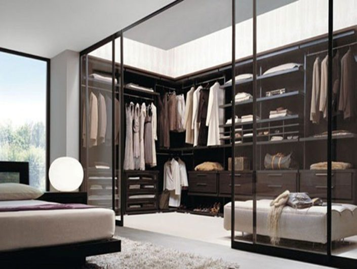Sliding Walk in Wardrobes