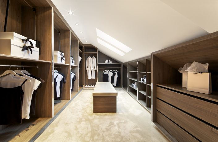 Bright Walk in Wardrobe