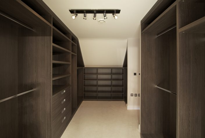 Dark Walnut Wardrobe