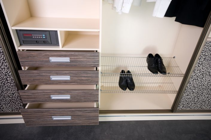 Custom Drawers & Shoe Rack