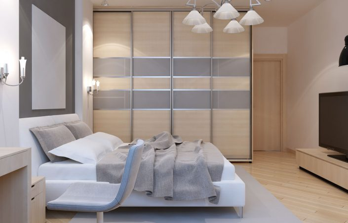 Modern Bedroom Sliding Door