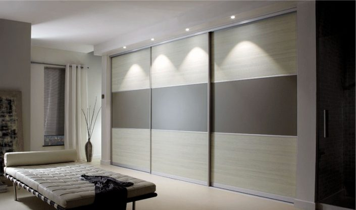 Contemporary Sliding with LED