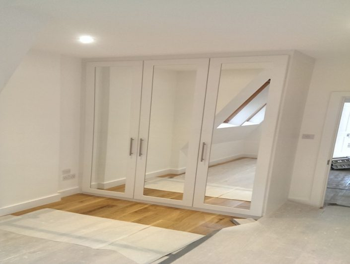 mirror fitted wardrobes