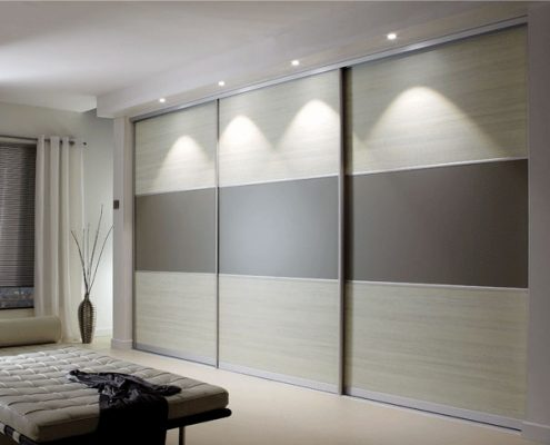 Matt Grey Sliding Door