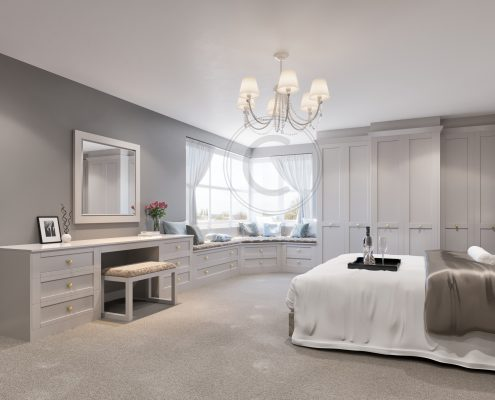 capital bedrooms - fitted wardrobes and bedooms grey