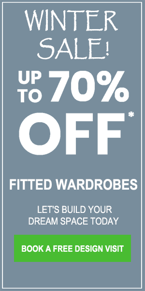 fitted wardrobes sale