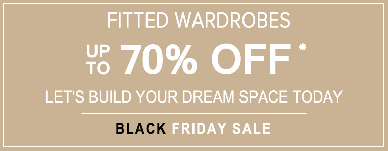 fitted wardrobes black friday sale